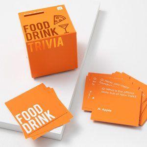Talking Tables Trivia Box - Food & Drink